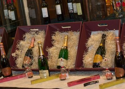 Große Sekt- und Champagnerauswahl