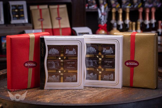 Süße Grüße aus Hildesheim Schokolade